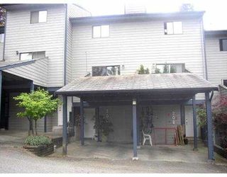 "Photo 1: 206 BALMORAL PL in Port Moody: North Shore Pt Moody Townhouse for sale in ""BALMORAL PLACE"" : MLS®# V540010"