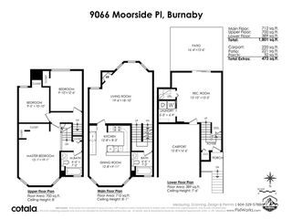 Photo 39: 9066 MOORSIDE Place in Burnaby: Forest Hills BN Townhouse for sale (Burnaby North)  : MLS®# R2524887