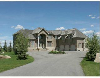 Photo 1:  in CALGARY: Rural Rocky View MD Residential Detached Single Family for sale : MLS®# C3182792