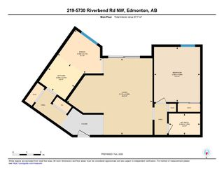 Photo 23: 219 5730 RIVERBEND Road in Edmonton: Zone 14 Condo for sale : MLS®# E4188491