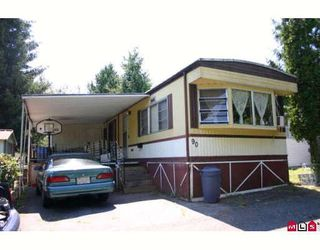Photo 1:  in King George Mobile Home Park: Home for sale : MLS®# F2822378