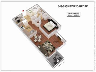 Photo 20: 308 5355 BOUNDARY Road in Vancouver: Collingwood VE Condo for sale (Vancouver East)  : MLS®# R2391412