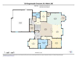 Photo 47: 32 Kingsmeade Crescent: St. Albert House for sale : MLS®# E4222456