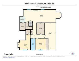 Photo 48: 32 Kingsmeade Crescent: St. Albert House for sale : MLS®# E4222456