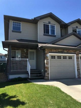 Photo 1: #34 12104 16 Avenue in Edmonton: Zone 55 House Half Duplex for sale : MLS®# E4170783