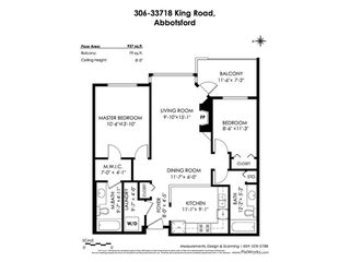 """Photo 20: 306 33718 KING Road in Abbotsford: Central Abbotsford Condo for sale in """"College Park Place"""" : MLS®# R2447601"""