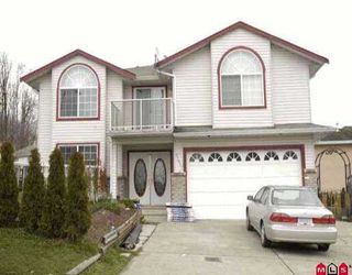 "Photo 1: 3324 SISKIN DR in Abbotsford: Abbotsford West House for sale in ""ABBOTSFORD WEST"" : MLS®# F2602630"