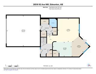 Photo 38: 20516 92 Avenue in Edmonton: Zone 58 House for sale : MLS®# E4186032