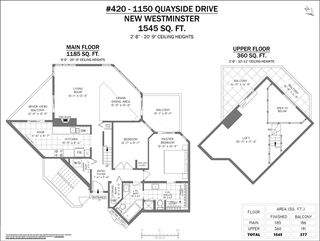 """Photo 22: 420 1150 QUAYSIDE Drive in New Westminster: Quay Condo for sale in """"WESTPORT"""" : MLS®# R2527891"""