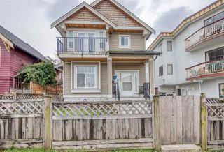 Main Photo: 2420 TRIUMPH Street in Vancouver: Hastings Sunrise House 1/2 Duplex for sale (Vancouver East)  : MLS®# R2435665