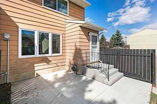 Photo 33: 17359 85 Avenue in Edmonton: Zone 20 Townhouse for sale : MLS®# E4196122