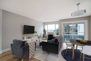 """Photo 2: 201 1330 GRAVELEY Street in Vancouver: Grandview Woodland Condo for sale in """"Hampton Court"""" (Vancouver East)  : MLS®# R2466394"""