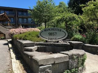 "Main Photo: 412 9857 MANCHESTER Drive in Burnaby: Cariboo Condo for sale in ""Barclay Woods"" (Burnaby North)  : MLS®# R2389316"