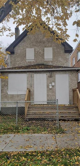 Photo 1: 737 McGee Street in Winnipeg: West End Residential for sale (5A)  : MLS®# 1929837