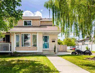 Main Photo: 13820 118 Street in Edmonton: Zone 27 House Half Duplex for sale : MLS®# E4200048
