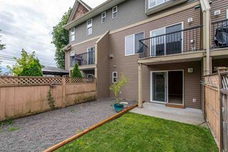 "Photo 19: 15 8830 NOWELL Street in Chilliwack: Chilliwack E Young-Yale Townhouse for sale in ""Central Park"" : MLS®# R2399978"