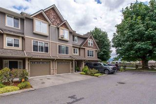 "Photo 1: 15 8830 NOWELL Street in Chilliwack: Chilliwack E Young-Yale Townhouse for sale in ""Central Park"" : MLS®# R2399978"