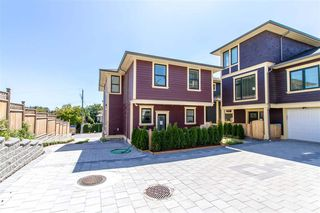 """Photo 1: 105 1313 CARTIER Avenue in Coquitlam: Maillardville Townhouse for sale in """"MAISON VELAY"""" : MLS®# R2413844"""
