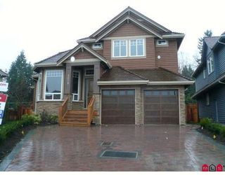 Photo 1: 3079 162 Street in South Surrey: Grandview Surrey Home for sale ()  : MLS®# F2911119