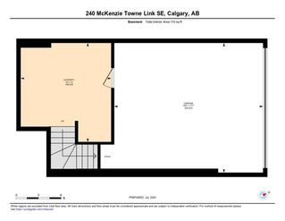 Photo 34: 240 MCKENZIE TOWNE Link SE in Calgary: McKenzie Towne Row/Townhouse for sale : MLS®# A1017413