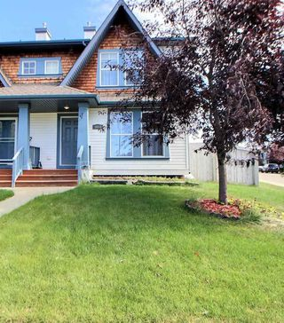 Photo 1: 5603 203 Street in Edmonton: Zone 58 House Half Duplex for sale : MLS®# E4214075