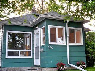 Photo 1: 376 King Edward Street in Winnipeg: St James Residential for sale (5E)  : MLS®# 202024606