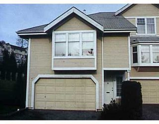 "Photo 1: 1140 FALCON Drive in Coquitlam: Eagle Ridge CQ Townhouse for sale in ""FALLON GATE"" : MLS®# V621929"