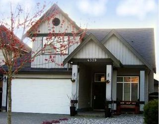 "Photo 1: 4379 BLAIR Drive in Richmond: West Cambie House for sale in ""WILLOW GREEN"""