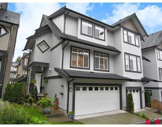 "Photo 1: 34 19932 70TH Avenue in Langley: Willoughby Heights Townhouse for sale in ""Summerwood"" : MLS®# F2729707"