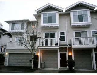 Photo 1: 59 6588 BARNARD Drive in Richmond: Terra Nova Townhouse for sale : MLS®# V689062