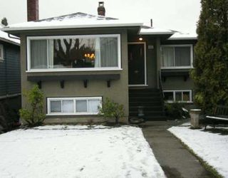 Photo 1: 6325 YEW Street in Vancouver: Kerrisdale House for sale (Vancouver West)  : MLS®# V626720