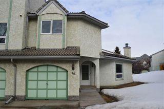 Photo 2: 42 9520 174 Street in Edmonton: Zone 20 Townhouse for sale : MLS®# E4192629