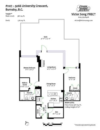 "Photo 24: 1107 9266 UNIVERSITY Crescent in Burnaby: Simon Fraser Univer. Condo for sale in ""AURORA"" (Burnaby North)  : MLS®# R2487372"