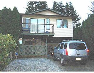 Photo 1: 1438 PITT RIVER RD in Port Coquiltam: Mary Hill House 1/2 Duplex for sale (Port Coquitlam)  : MLS®# V565527