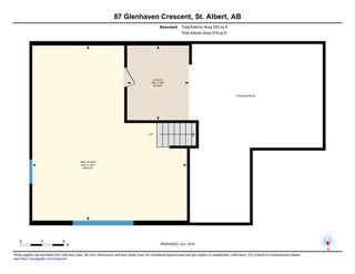 Photo 34: 87 Glenhaven Crescent: St. Albert House for sale : MLS®# E4178501