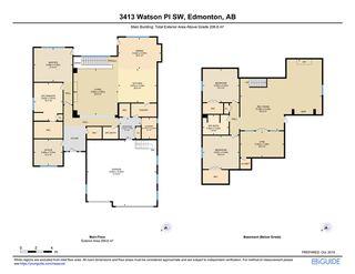 Photo 41: 3413 WATSON Place in Edmonton: Zone 56 House for sale : MLS®# E4186187