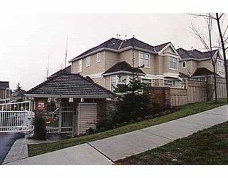 "Photo 1: 35 5950 OAKDALE Road in Burnaby: Oaklands Townhouse for sale in ""HEATHERCREST"" (Burnaby South)  : MLS®# V647891"