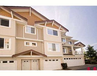 "Photo 1: 44 12711 64TH Avenue in Surrey: West Newton Townhouse for sale in ""Palette On The Park"" : MLS®# F2714922"