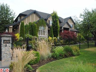 """Photo 1: 2650 139A ST in Surrey: Elgin Chantrell House for sale in """"ELGIN/CHANTRELL"""" (South Surrey White Rock)  : MLS®# F1104573"""
