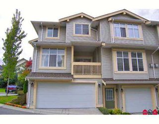 "Photo 1: 11 14959 58TH Avenue in Surrey: Sullivan Station Townhouse for sale in ""SKYLANDS"" : MLS®# F2724942"