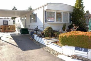 """Photo 1: 219 1840 160 Street in Surrey: King George Corridor Manufactured Home for sale in """"Breakaway Bays"""" (South Surrey White Rock)  : MLS®# R2436590"""