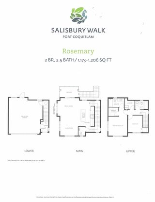 "Photo 19: 11 2150 SALISBURY Avenue in Port Coquitlam: Glenwood PQ Townhouse for sale in ""Salisbury Walk"" : MLS®# R2488285"