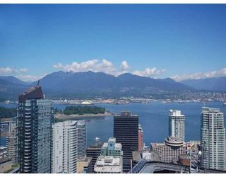 Photo 1: # 4203 1111 ALBERNI ST in Vancouver: Condo for sale : MLS®# V836772
