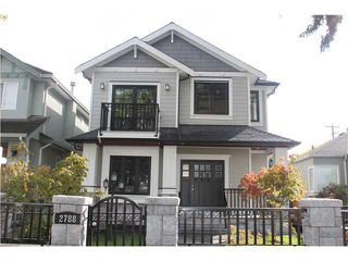 Photo 1: 2788 W 19TH AV in Vancouver: Arbutus House for sale (Vancouver West)  : MLS®# V915432