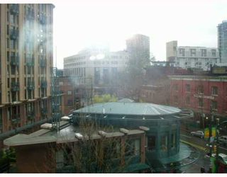 """Photo 7: 407 1 E CORDOVA Street in Vancouver: Downtown VE Condo for sale in """"CARRALL STREET STATION"""" (Vancouver East)  : MLS®# V666299"""