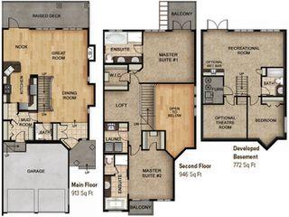Photo 5: 8 1030 Connelly Way in Edmonton: Zone 55 House Half Duplex for sale : MLS®# E4166406