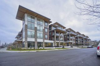 """Photo 1: 404 12460 191 Street in Pitt Meadows: Mid Meadows Condo for sale in """"Orion"""" : MLS®# R2457439"""