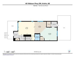 Photo 28: 481 MIDTOWN Parkway SW: Airdrie Semi Detached for sale : MLS®# A1019807