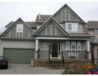 "Photo 1: 16761 63B Avenue in Surrey: Cloverdale BC House for sale in ""CLOVER RIDGE"" (Cloverdale)  : MLS®# F2806564"