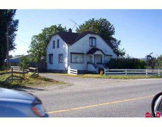 Main Photo: 6227 RIVERSIDE Street in Abbotsford: Matsqui House for sale : MLS®# F2806618